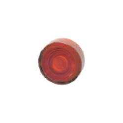 Klosz z soczewką cczerwony