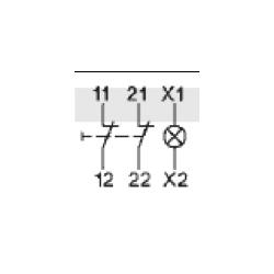 Styki pomocnicze 2NC
