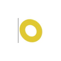 Żółta podkładka pod przycisk