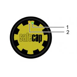 Przycisk safeCAP SC3 do sterowania dwuręcznego