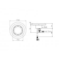Przycisk safeCAP SCB4 (Przycisk B) do sterowania dwuręcznego