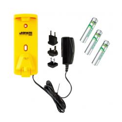 Ładowarka sieciowa ORCLU wraz z akumulatorkami 3xAAA.