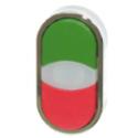 Podwójny przycisk zielono-czerwony