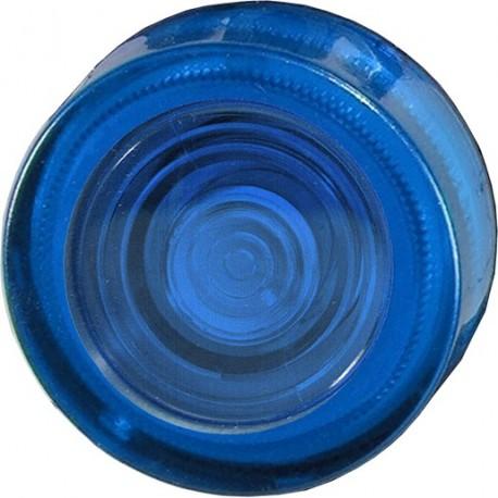 Klosz z soczewką niebieski